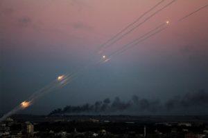 Újabb rakétát lőttek ki Gázából Izraelre szerda éjjel