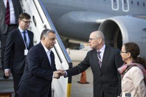 Orbán Viktor megérkezett Izraelbe