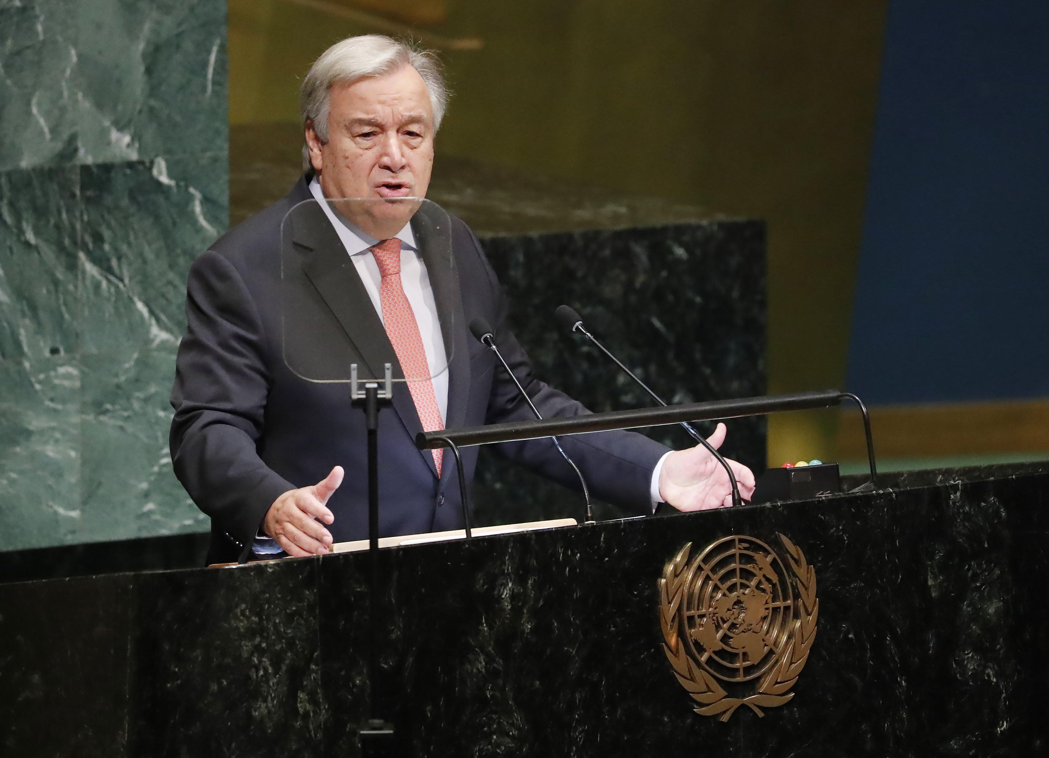 Leszerelné a Hezbollah-t az ENSZ főtitkára