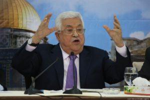 Abbász: felfüggesztjük az Izraellel kötött megállapodásokat