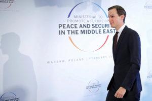 Igazságos határrendezést ígért az araboknak Kushner