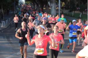 40 ezer futó vett részt a 11. Tel Aviv Maratonon