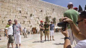 11 százalékkal több turista érkezett év elején Izraelbe, mint tavaly januárban
