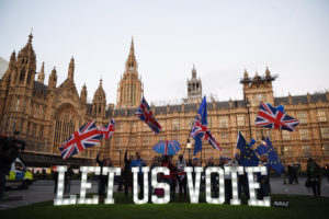 Inkább csak a londoniak és a skótok idegeskednek a megegyezés nélküli Brexit miatt