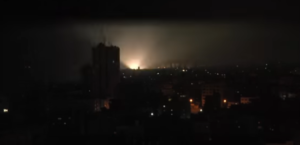 A rakétatámadások éjszaka is folytatódtak Izraelben