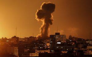 Izraeli válaszcsapás a Hamászra
