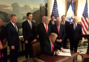 Trump hivatalosan is elismerte Izrael fennhatóságát a Golán felett