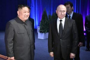 Putyin: Kim Dzsong Un látogatása segíti a békét