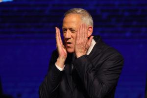 Ganz feladta és elismerte Netanjahu győzelmét