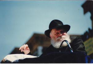 Mit mondott a Rebbe Netanjahunak?