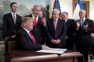 Amerikai zsidók lobbiznak Trumpnál Netanjahu terve ellen