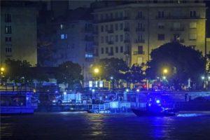 Dunai hajóbaleset Budapesten: hét halott
