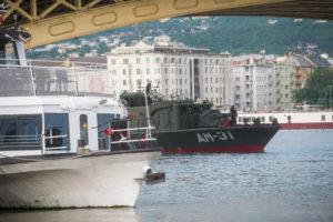 Dunai hajóbaleset: felszínre hoztak egy holttestet