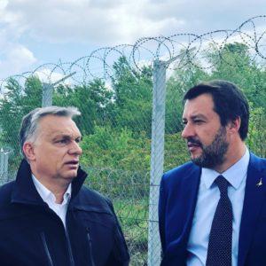 """Salvini Budapesten: az ellenzék szerint """"újfasiszta irányt"""" vesz az ország"""