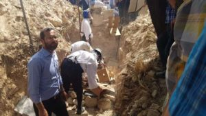 2000 éves emberi maradványokat temettek újra Izraelben