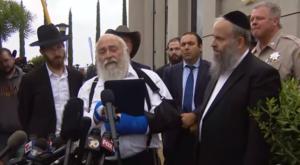 Kórházból üzent a kaliforniai merényletben meglőtt rabbi