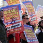 """""""Izrael a mi balszerencsénk"""" — így kampányolnak a német neonácik"""