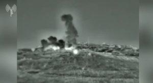 Válaszcsapást mért Izrael Szíriára