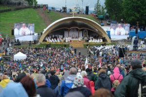 Ferenc pápa Erdélyben: a legfontosabb a testvéri együttélés