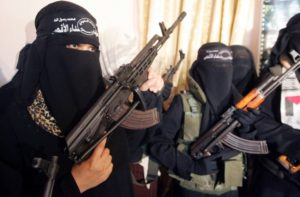 Emancipáció: egyre aktívabbak a női terroristák