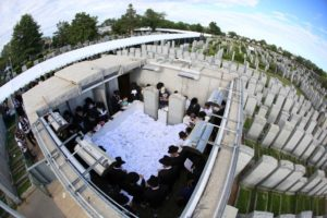 A Lubavicsi Rebbe 25. Jahrzeitját ünneplik