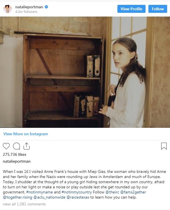 Natalie Portman's Instagram