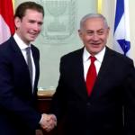 """Netanjahu """"Izrael nagy barátjának"""" nevezte az osztrák exkancellárt"""