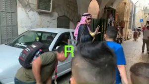 Megtámadtak egy szaúdi bloggert a Templom-hegyen