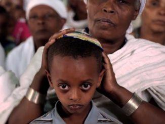 etióp zsidók