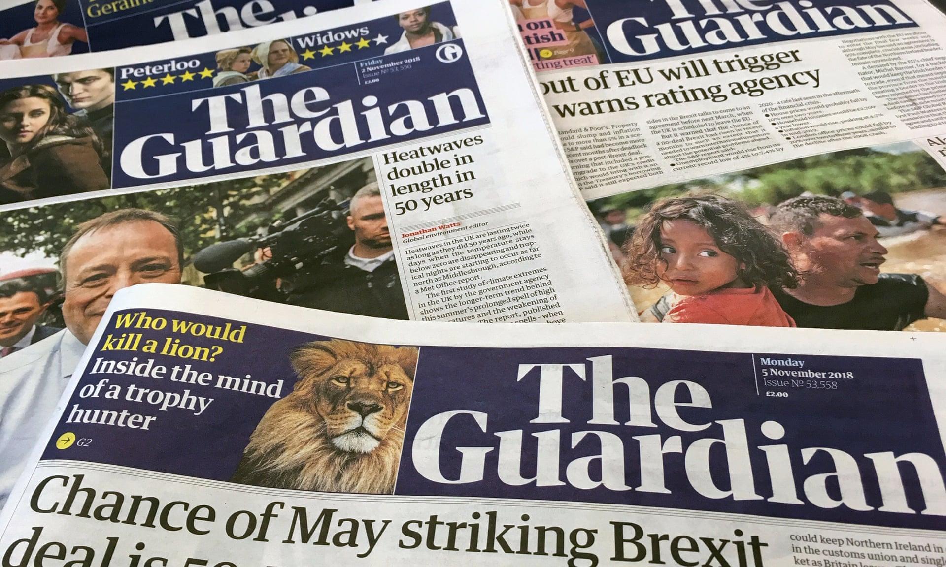 A Guardian már azt is bánja, hogy valaha támogatta a cionizmust