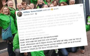 Holland zöldbalos aktivista szerint a zsidók nácikká válnak Izraelben