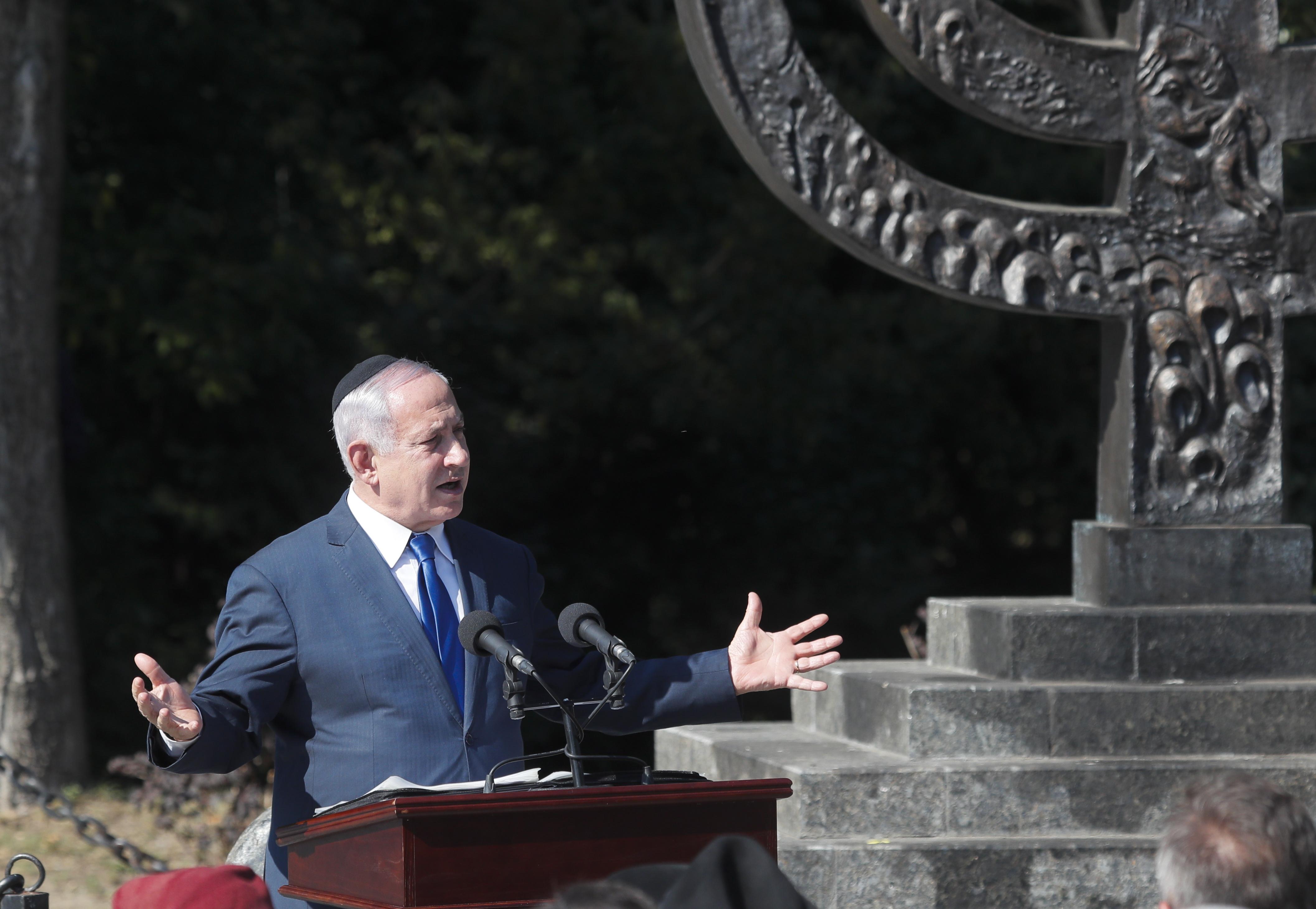 Netanjahu Izrael és Ukrajna közös jövőjéről beszélt Babi Jarban