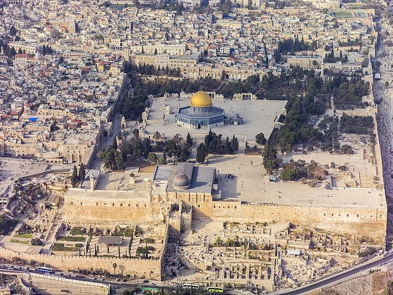 Az ENSZ csak muszlim Templom-hegyet ismer