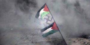 A Hamász betiltja a horogkeresztet