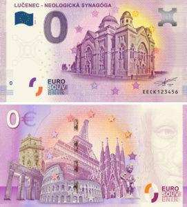 Szuvenír euróra kerül a losonci zsinagóga képe