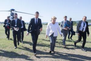 Sopronba érkezett Angela Merkel