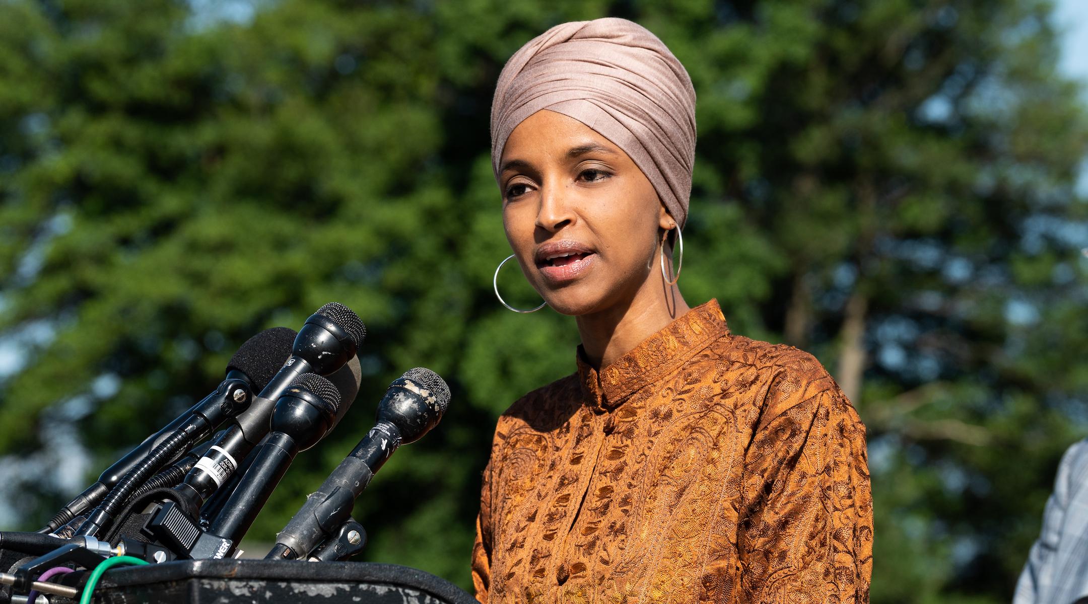 Omar szerint Amerika akár meg is vonhatná támogatását Izraeltől a kitiltások miatt