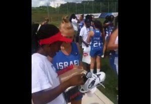 Új cipőkkel lepte meg afrikai ellenfeleit az izraeli lacrosse csapat