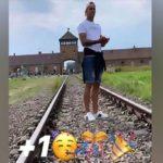 Bocsánatot kért az Auschwitzból küldött vidám üdvözletért az uruguayi focista