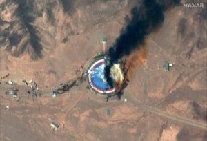 """Füstbe mehet Irán """"űrkutatási"""" programja"""