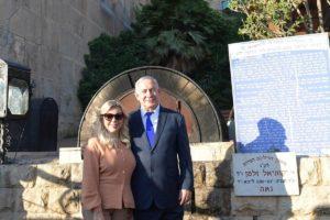 """Netanjahu: """"Nem vagyunk idegenek, örökre Hebronban maradunk"""""""