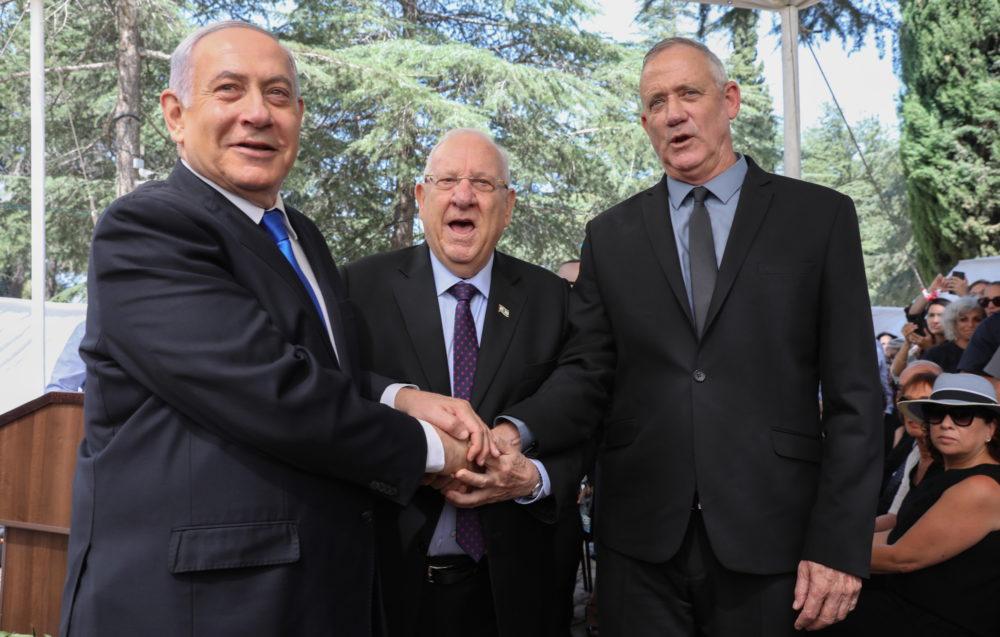 Úgy tűnik, Netanjahu és Ganz egységkormányt alakít