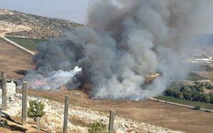Páncéltörő rakétával lőttek Izraelre Libanonból, az IDF viszonozta a tüzet