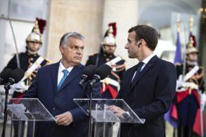 """Orbán Macronnak: """"Magyarországnak mások a civilizációs tradíciói"""""""