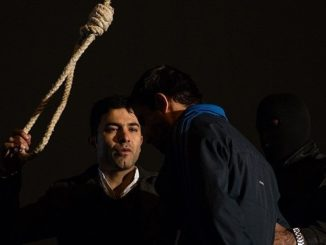 iráni nyilvános kivégzés