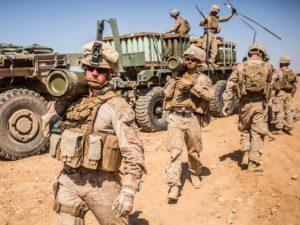 Erdogan: az amerikai csapatok elkezdtek kivonulni Északkelet-Szíriából a török hadművelet előtt