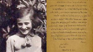 Izraeli bíróság akadályozta meg egy holokausztban meghalt kislány levelének elárverezését