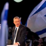 Találkozón vett részt Ganz és Netanjahu