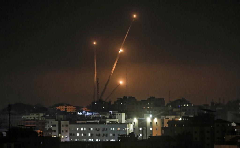 Izrael válaszcsapást mért Gázára az onnan érkező rakéták miatt