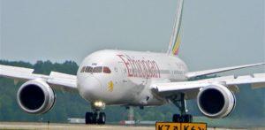 Tel-Avivra keresztelte új repülőgépét az Ethiopian Airlines